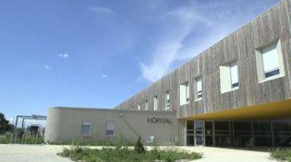 Photo de l'hôpital de Crest - partenaires Ophtalmovalence